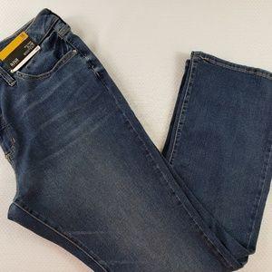 NWT A.N.A Womens Jean's Size 16S slim Bootcut